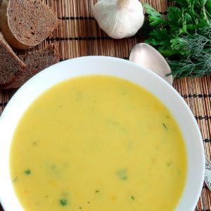 летний суп-пюре с секретом