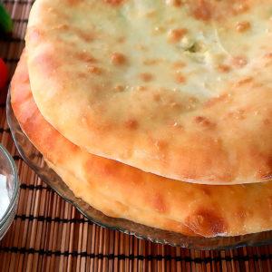 Осетинские пироги с картофелем.