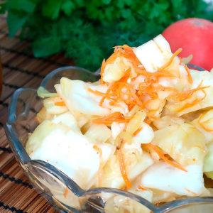 Салат из капусты по-корейски