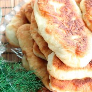 Тонкие крестьянские пирожки